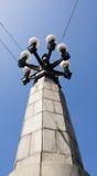 Lámpara de calle de la vendimia Fotos de archivo libres de regalías
