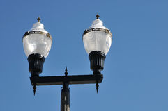 Lámpara de calle de la vendimia Foto de archivo