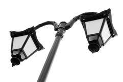 Lámpara de calle de la vendimia Fotografía de archivo libre de regalías