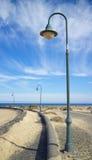 Lámpara de calle de Lanzarote 1 Fotografía de archivo libre de regalías