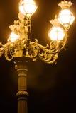 Lámpara de calle de Vatican Fotos de archivo