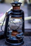 Lámpara de calle del keroseno foto de archivo