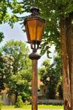 Lámpara de calle del viejo estilo Foto de archivo libre de regalías