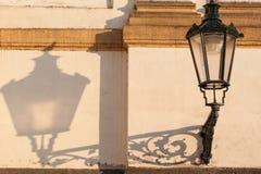 Lámpara de calle del vintage Fotos de archivo