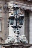 Lámpara de calle en el Buckingham Palace Londres Imagen de archivo