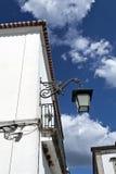 Lámpara de calle en Serpa, Portugal imágenes de archivo libres de regalías