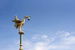 Lámpara de calle en Tailandia Fotografía de archivo libre de regalías