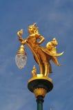 Lámpara de calle hermosa Fotografía de archivo libre de regalías