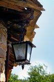 Lámpara de calle vieja foto de archivo libre de regalías
