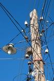 Lámpara de calle vieja Foto de archivo