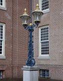 Lámpara de calle vieja Imagenes de archivo