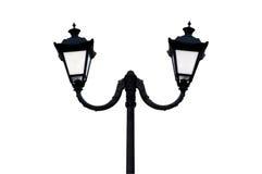 Lámpara de calle vieja. Fotos de archivo