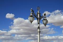 Lámpara de calle vieja en Kimberley Fotografía de archivo