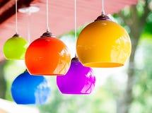 Lámpara de cerámica Imágenes de archivo libres de regalías