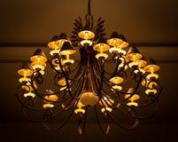 Lámpara de cristal de lujo Fotografía de archivo libre de regalías