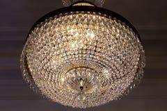 Lámpara de cristal vieja Imagen de archivo