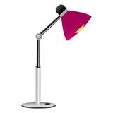 Lámpara de escritorio Fotos de archivo libres de regalías