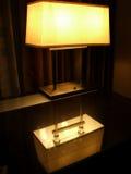 Lámpara de escritorio Foto de archivo libre de regalías