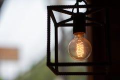 Lámpara de filamento fotos de archivo