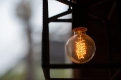 Lámpara de filamento fotografía de archivo