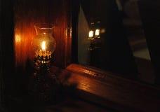 Lámpara de gas Fotografía de archivo