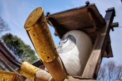 Lámpara de Japón del templo Fotografía de archivo