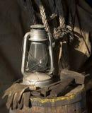 Lámpara de keroseno Imagen de archivo libre de regalías