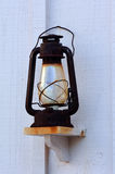 Lámpara de keroseno antigua Imágenes de archivo libres de regalías