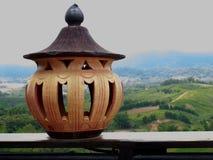 Lámpara de la arcilla Imagenes de archivo
