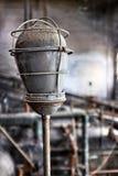 Lámpara de la fábrica Foto de archivo libre de regalías