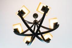 Lámpara de la luz de techo Imágenes de archivo libres de regalías