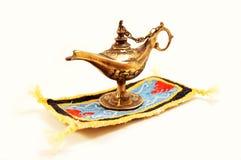 Lámpara de la magia de Aladdin Fotos de archivo libres de regalías