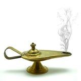 Lámpara de la magia de Aladin´s Imagenes de archivo