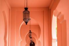 Lámpara de la mezquita Fotografía de archivo