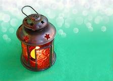Lámpara de la Navidad Foto de archivo libre de regalías