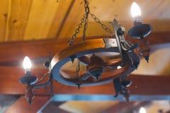 Lámpara de la rueda de carro Fotografía de archivo libre de regalías