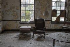 Lámpara de la silla Fotografía de archivo libre de regalías