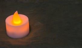 Lámpara de la vela fotografía de archivo