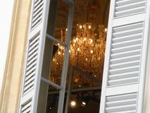 Lámpara de la ventana fotos de archivo libres de regalías
