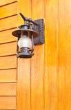 lámpara de la Viejo-manera Foto de archivo