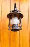 lámpara de la Viejo-manera Fotografía de archivo