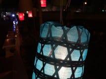 Lámpara de Lanna, como la estrella Imagen de archivo