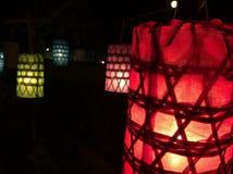 Lámpara de Lanna, como la estrella Imágenes de archivo libres de regalías