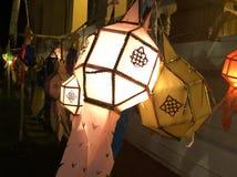 Lámpara de Lanna, como la estrella Imagen de archivo libre de regalías