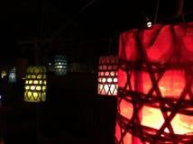 Lámpara de Lanna, como la estrella Fotografía de archivo libre de regalías