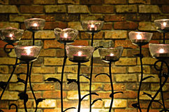 Lámpara de las rosas Imágenes de archivo libres de regalías