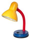 Lámpara de lectura multicolora en el fondo blanco foto de archivo libre de regalías