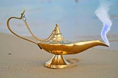 Lámpara de los Genies Foto de archivo libre de regalías