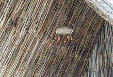Lámpara de madera del techo Foto de archivo