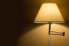Lámpara de mesa con el espacio de la escritura Imagenes de archivo